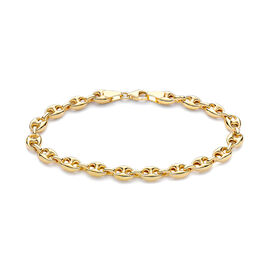 9K Yellow Gold Bracelet (Size 7.5), Gold wt 4.80 Gms