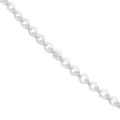 Made in Italy - Sterling Silver Rolo Chain (Size 24)
