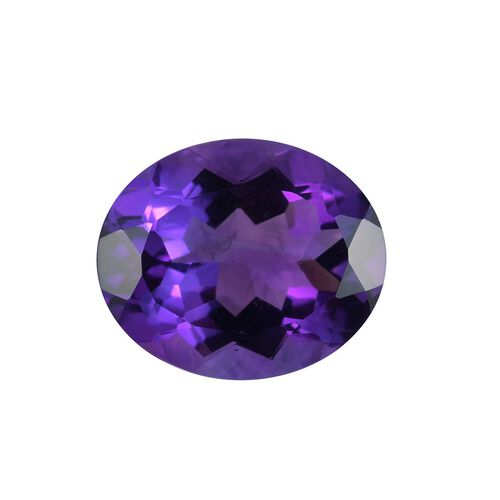 AAA Moroccan Amethyst Oval 12x10 Faceted 3.88 Cts