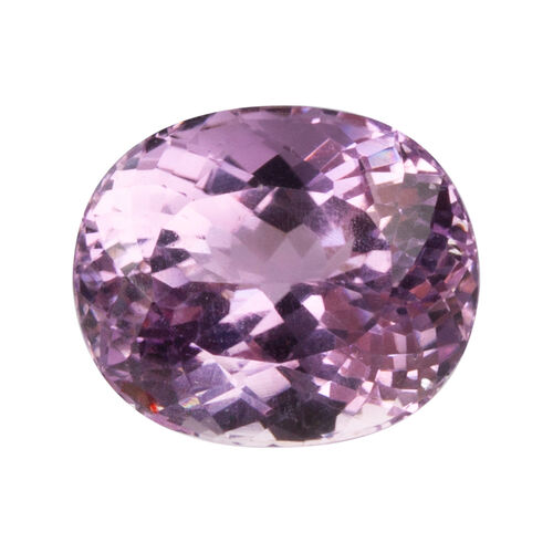 Kunzite (Oval 17.5x14.5 Faceted 3A) 18.800 Cts