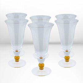 Made in Italy - Authentic Murano Glass - Giallo