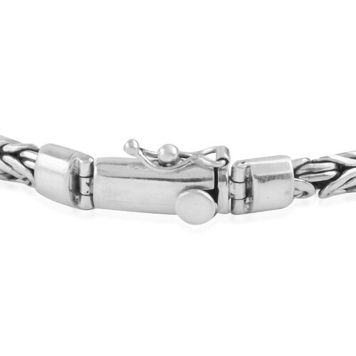 Royal Bali Collection Sterling Silver Bracelet (Size 8), Silver wt. 33.35 Gms.