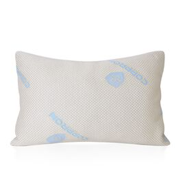 Copper Infused Memory Foam Pillow (Size 74x48 Cm)