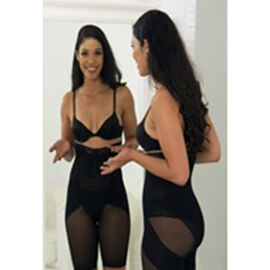 Super Find- 2 Piece Set - Slim N Lift Silhouette Shaper in Black and Nude Colour (Size Large, 12-14)