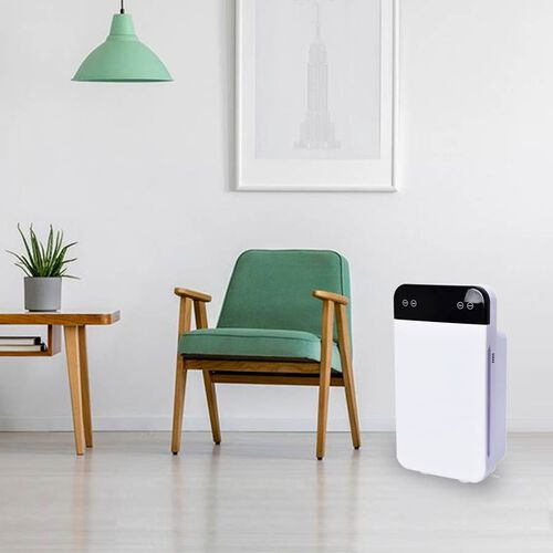 PM2.5 6-Stage Multifunctional Air Purifier, Remote Controlled with HEPA Filter and Activated Carbon (Size 61x34x22 Cm)