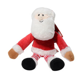 Keel Toys - Christmas Dangly Santa Claus Character (Size 12 Cm)