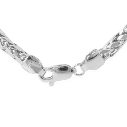 9K W Gold Hand Made Diamond Cut Tulang Naga Necklace (Size 24), Gold wt 12.75 Gms.