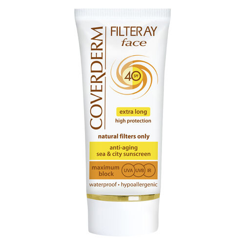 Coverderm Filteray Face SPF40 Light Beige 50ml