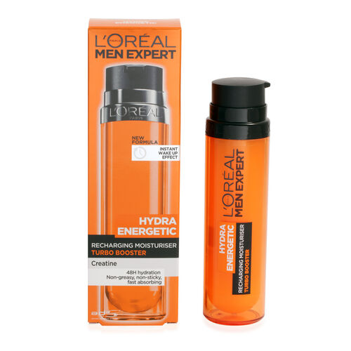 LOreal: Men Expert Hydra Energetic X-Treme Turbo Booster Moisturiser - 50ml