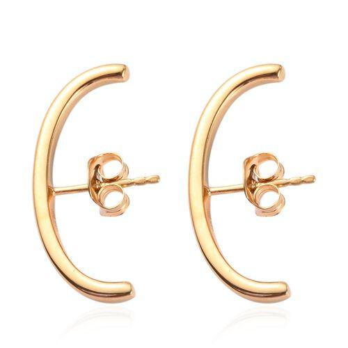 Sundays Child 14K Gold Overlay Sterling Silver Earrings