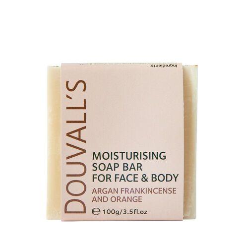 Douvalls Argan, Frankincence & Orange Soap