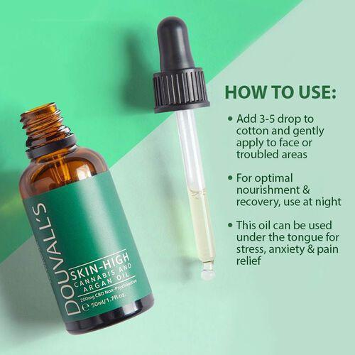 Douvalls: Skin High - Cannabis & Argan Oil - 50ml