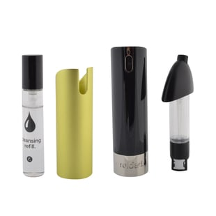 Reload Mini Perfume Spray Black (Incl. Cleansing Refill & Yellow Skin)
