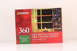 360 LED Net Chaser Lights- Multi Coloured