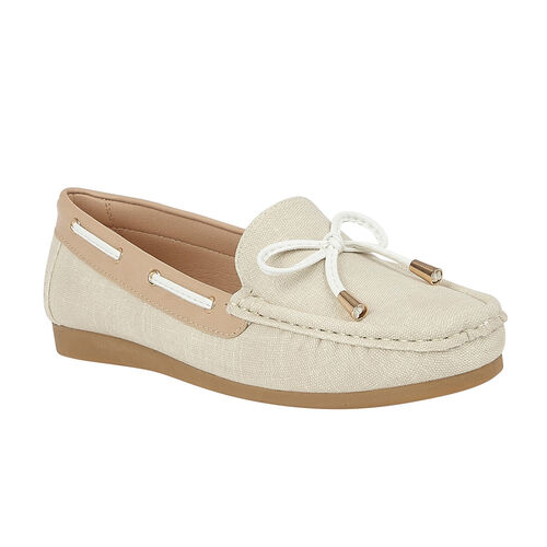 Lotus Hannah Boat Shoes (Size 5) - Natural