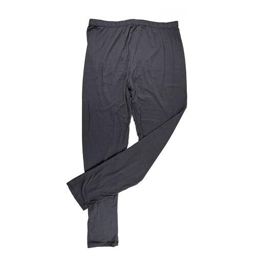 Super Find - Aura Boutique Super Soft Leggings (Size XL, 20-22) - Charcoal Colour