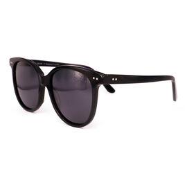 SOHO SQUARE Ladies Oversize Round Polarised Lens - Black