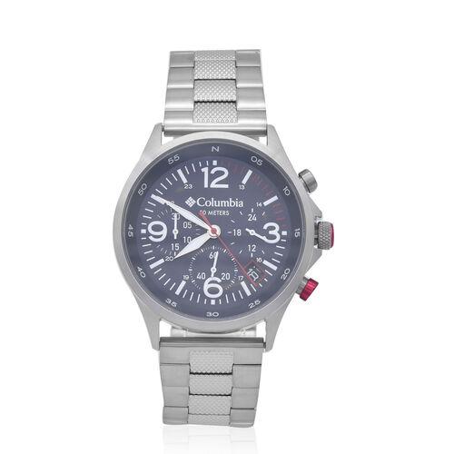 Columbia Canyon Ridge Navy Chronograph Stainless Steel Bracelet Watch
