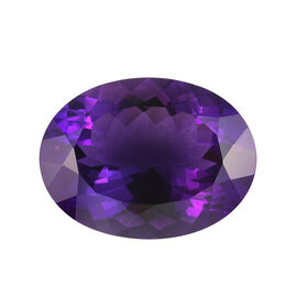 AAA Moroccan Amethyst Oval 20x15 Faceted 15.08 Cts