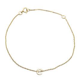 9K Yellow Gold  Bracelet,  Gold Wt. 0.4 Gms