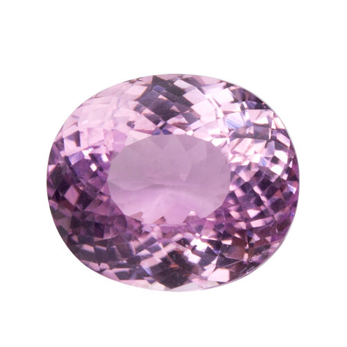 Kunzite (Oval 15.5x13 Faceted 3A) 14.640 Cts