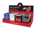 4 Piece Set Lightweight RFID Credit Card Case
