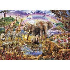 1000 Piece Jigsaw Puzzle - Jungle Animals