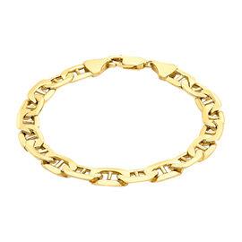 9K Yellow Gold Rambo Bracelet (Size 8), Gold wt 10.00 Gms