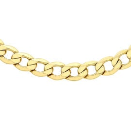 Hatton Garden Close Out 9K Yellow Gold Curb Chain (Size 20), Gold wt. 9.82 Gms