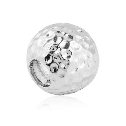 RACHEL GALLEY Rhodium Overlay Sterling Silver Globe Pendant
