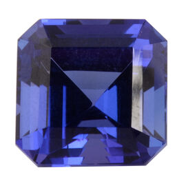 AAAA Tanzanite Octagon 10.75X10.78X8.56 Faceted 8.37 Ct.