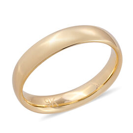 Premium Collection-Royal Bali Collection 9K Yellow Gold High Polish Band Ring