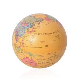 Revolving Globe with LED Light - Yellow