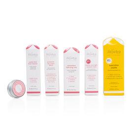 Jojoba: Facial Cleanser - 20ml, Antioxidant Hydrating Mist- 15ml,  Jojoba - 30ml, Protective Day Cre