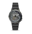 Columbia Peak Patrol Grey 3-Hand Day Date Grey Silicone Watch