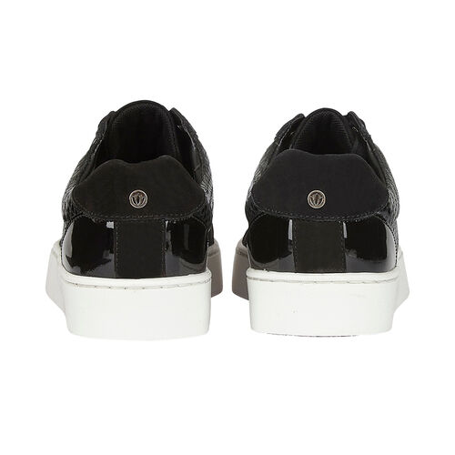 Lotus Stressless Black Leather Sherlyn Casual Trainers (Size 3)