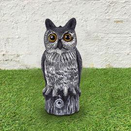 Owl Garden Decoration -  Grey