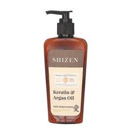 SHIZEN Keratin & Argan Oil Hair Conditioner - Nature of love,smooth hair, tangle free (200 ml) 100%
