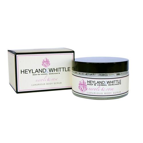 Heyland & Whittle: Neroli & Rose Body Scrub, Body Lotion, Organic Soap & Hand Cream