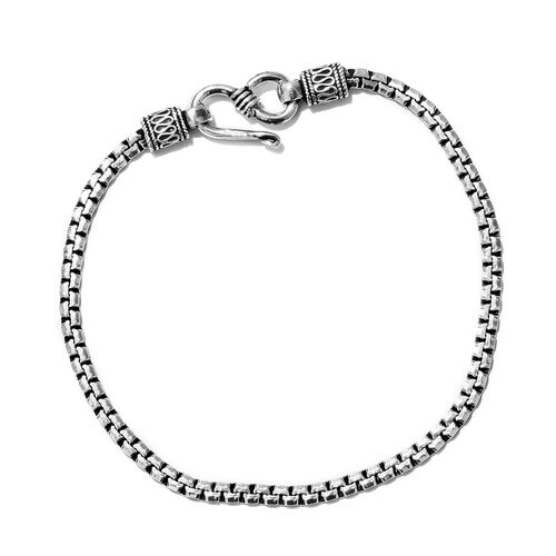 One Time Mega Deal-Sterling Silver Bracelet (Size 7.5), Silver wt 6.69 Gms.