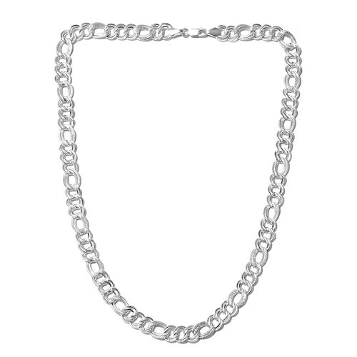 Limited Edition- Sterling Silver Rope Necklace (Size 30), Silver wt 55.04 Gms.