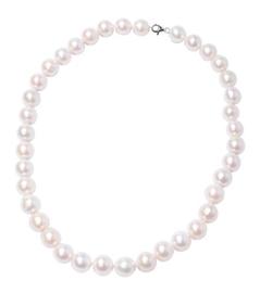 RHAPSODY 950 Platinum AAAA Edison Pearl Beaded Necklace (Size 20)
