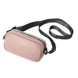 CLOSE OUT DEAL100% Genuine Leather Crossbody Bag with Zipper Closure and Shoulder Strap (Size 19x7x1