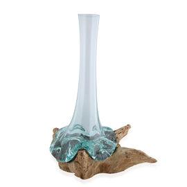 Jardin de Bali - Gamal Wood Flower Vase (30x14cm)