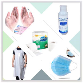 TJC Bundle of Essentials- (Including 75% Alcohol Hand Sanitiser, Disposable Mask, Toilet Papers, Dis