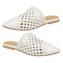Ravel Inglis Leather Slip-On Shoes in White Colour