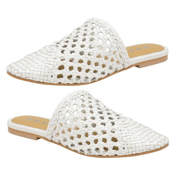 Ravel Inglis Leather Slip-On Shoes (Size 3) - White