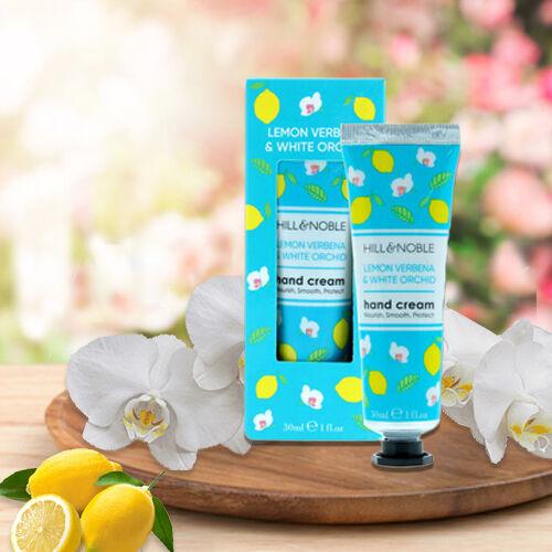 Hill & Noble: Lemon Verbena & White Orchid - 30ml