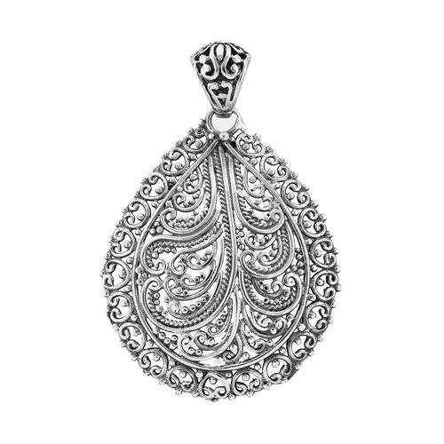 Royal Bali Collection Sterling Silver Pendant, Silver wt 5.31 Gms