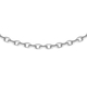 Sterling Silver Trace Chain (Size 24) with Spring Ring Clasp, Silver wt 3.70 Gms